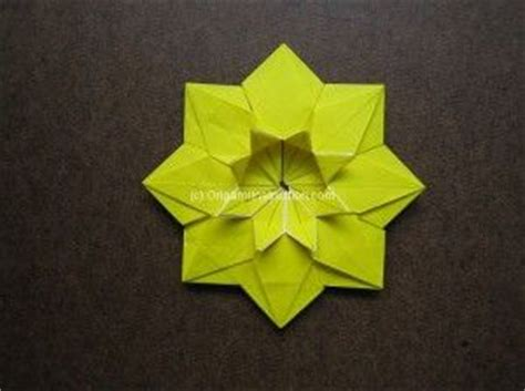 origami sunflower step by step origami modular sunflower step by step