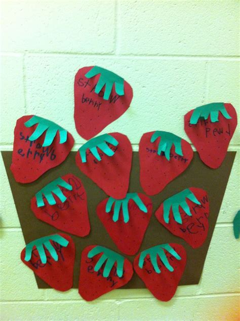 strawberry crafts for strawberries a collection of ideas to try about education