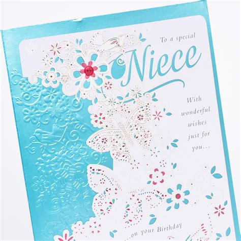 how to make a wonderful birthday card birthday card niece with wonderful wishes only 163 1 49
