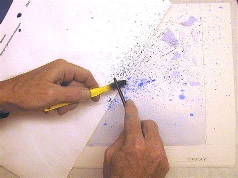 spray painting techniques watercolor techniques splatter spray watercolor
