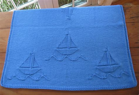 nautical blanket knitting pattern oh boy 17 adorable baby boy knitting patterns