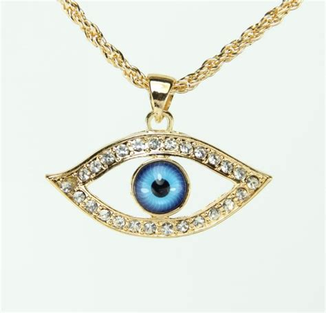 charms and pendants for jewelry european trendy turkey evil eye pendant necklace cz