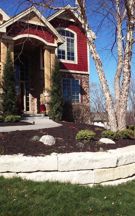 landscaping omaha ne klooskutters landscaping mulch omaha ne