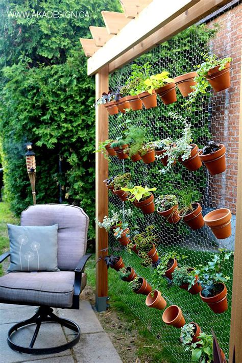 Garden Diy 8 Space Saving Vertical Herb Garden Ideas For Small Yards