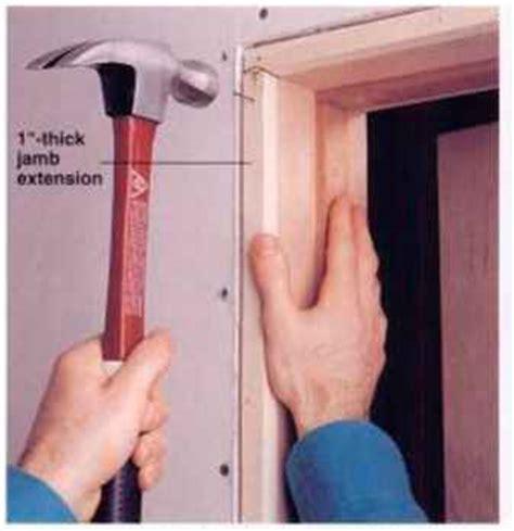 install interior doors installing a prehung interior door home carpentry