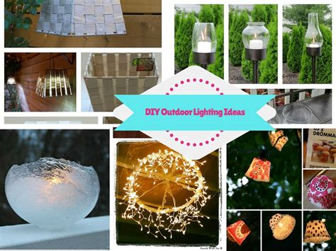 diy outdoor lighting ideas 8 bright and gorgeous diy outdoor lighting ideas