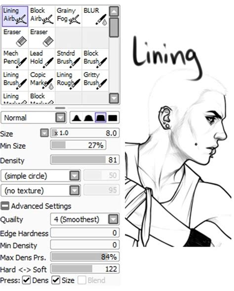 animation guide sai paint tool tutorial for beginners boomer paint tool sai brush settings let s get some