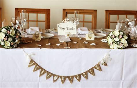 table top decor top table wedding decor ideas top table