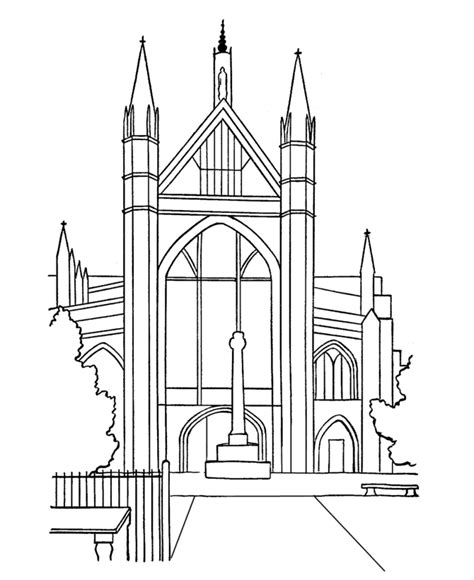 church for adults church coloring pages for adults coloringstar
