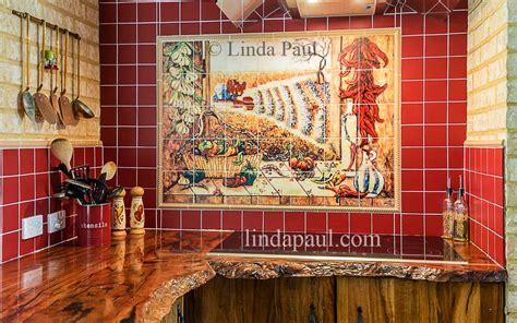 kitchen tile murals tile backsplashes mexican tile murals chili pepper kitchen backsplash mural