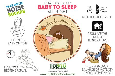 how to get your baby to sleep all top 10 home remedies