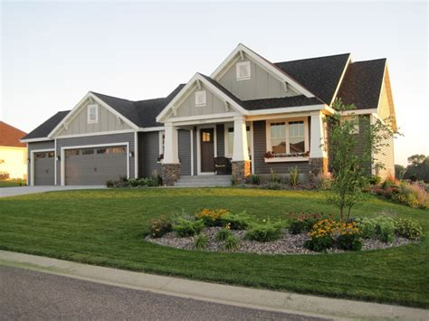 craftsman style home single story craftsman style homes craftsman style ranch