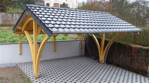 Garage Plans With Carport garage en bois