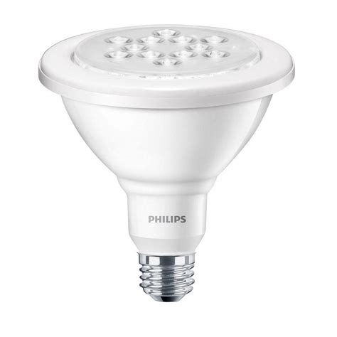 home depot led light bulbs philips 100w equivalent daylight 5000k par38 dimmable