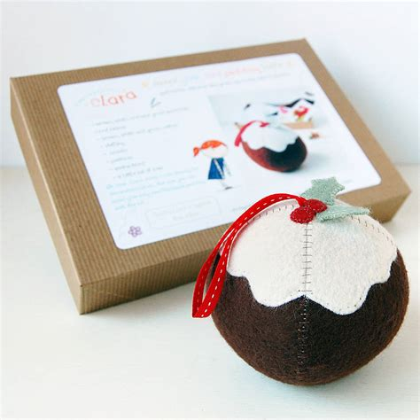 craft kit for make your own pudding craft kit by clara and