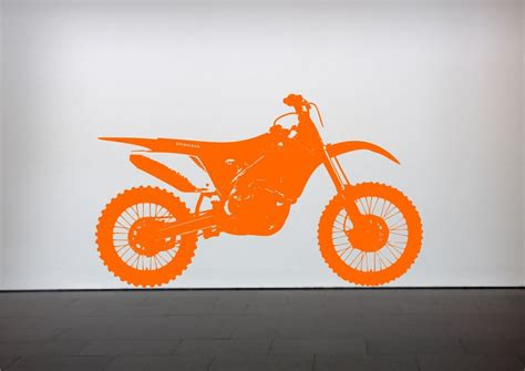 crosser motocross bike wall sticker bedroom stencil transfer decal mural ebay