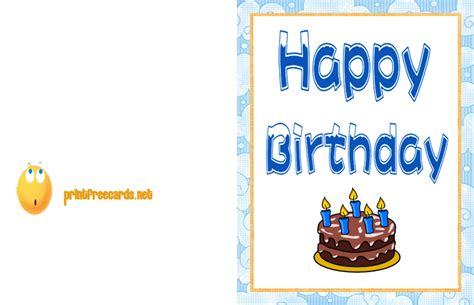 make and print birthday cards how to create printable birthday cards
