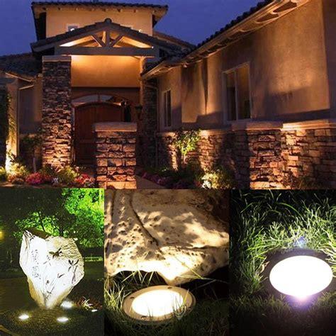 p m landscape lighting 3w led waterproof outdoor in ground garden path flood landscape light alexnld