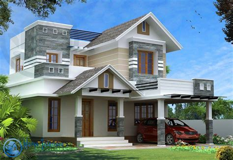 new home designs kerala style modern kerala style house design with 4 bhk