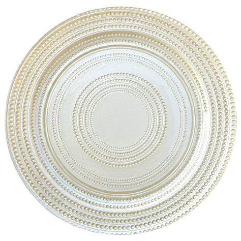 gold beaded charger plates wholesale wholesale gold silver glass beaded charger plate wedding