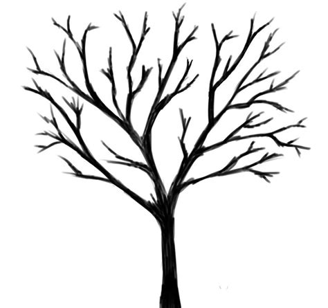 black and white tree black tree zoeken illustrations