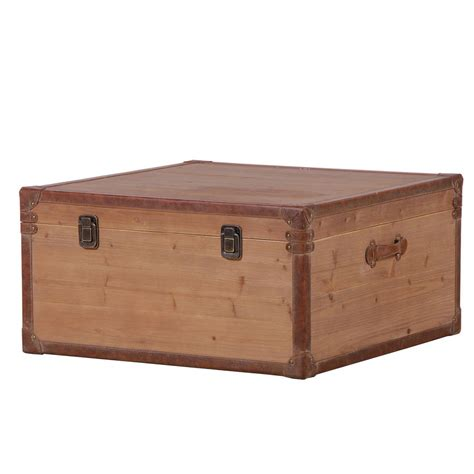 trunk coffee table wooden trunk coffee table by out there interiors