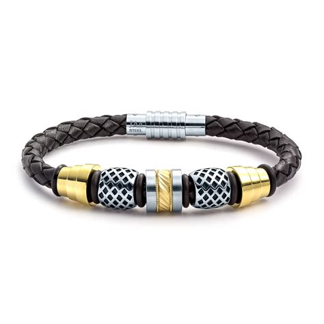 jewelry bracelets aagaard mens jewelry leather bracelet no 1245 landing