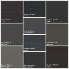 paint colors black 1000 images about colors gray to black on