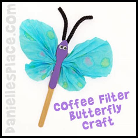 butterfly craft for caterpillar and butterfly crafts for