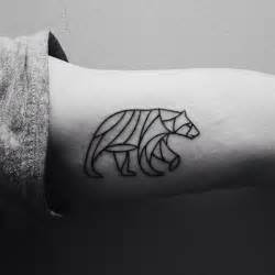 geometric bear tattoo best tattoo design ideas