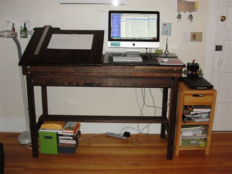 drafting table standing desk new custom standing workstation kondrich
