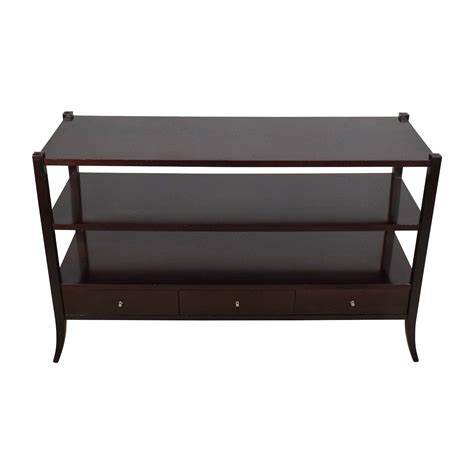 sofa side table storage 85 modern classic blue lacquer