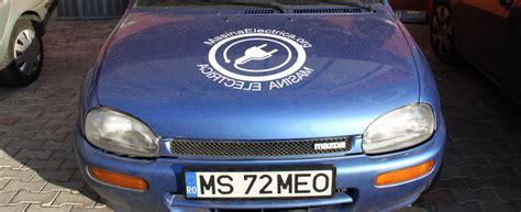 Motor Electric Romanesc by Test Drive Verde Mazda 121 Transformata In Masina