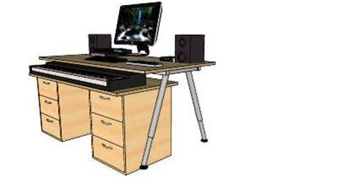 ikea home studio desk 88 key digital piano studio desk and home studio on