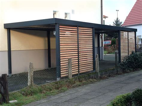 modern carport einzelcarports carceffo moderne carports garagen