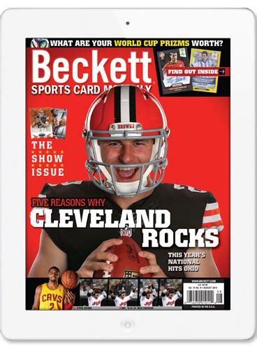 best card magazine beckett media scm magazines best scm digital price magazines