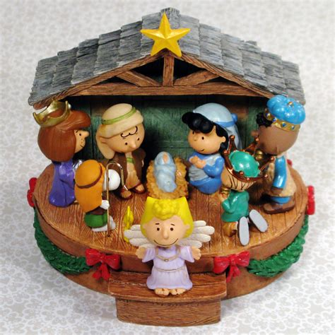 peanuts musical decorations peanuts nativity musical collectpeanuts