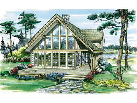 a frame lake house plans oakleigh pass a frame cabin home plan 062d 0052 house