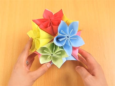 origami flower kusudama how to make a kusudama 12 steps with pictures
