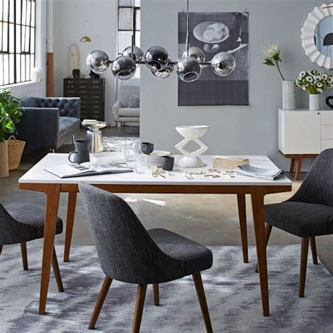 west elm dining room chairs modern dining table west elm