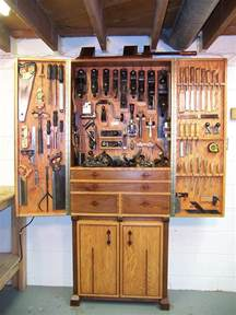woodworking gallery oak and walnut tool cabinet finewoodworking
