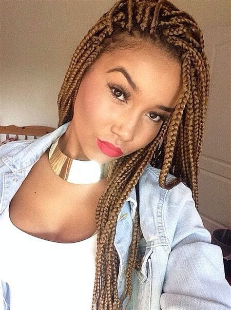 box braids hairstyle human hair or synthtic 65 box braids hairstyles for black women human hair