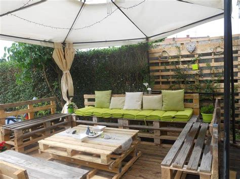outdoor furniture made out of pallets diy pallet patio furniture pallet deck