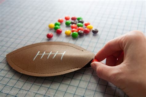 football crafts for craftaholics anonymous 174 football pouches a
