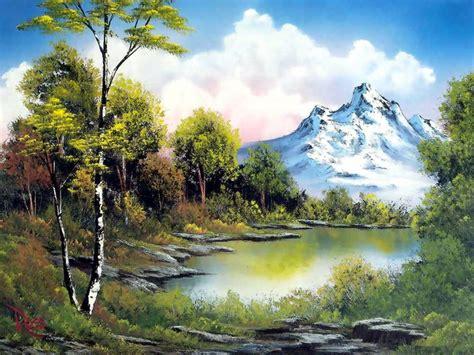 bob ross painting valley view bob roos bilder news infos aus dem web
