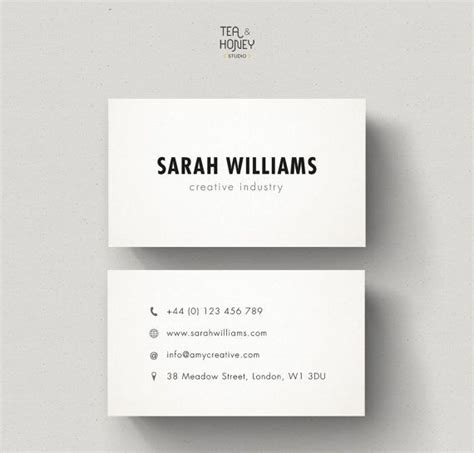 how to make a simple business card oltre 1000 idee su business cards su
