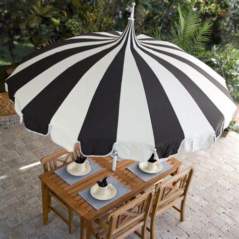 black and white patio umbrella pagoda 8 1 2 foot patio umbrella by california umbrella