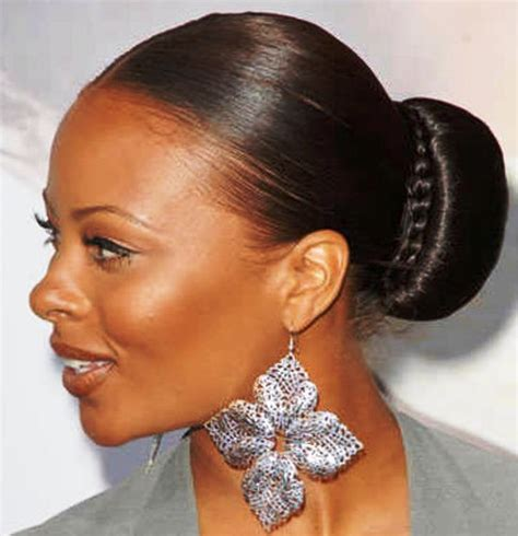 black hair buns 15 updo hairstyles for black women who love style