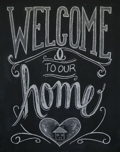 chalkboard paint lettering best 25 welcome home signs ideas on wood