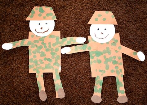 veterans day crafts for soldier craft